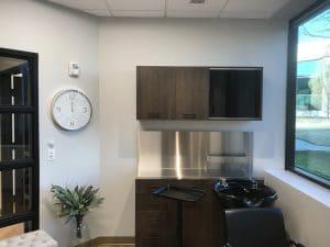 interior of salon suite rental at Orem Indie Studio Suites