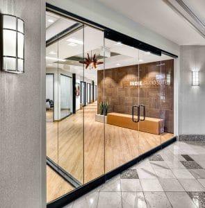 entrance to Orem Indie Studio Suites