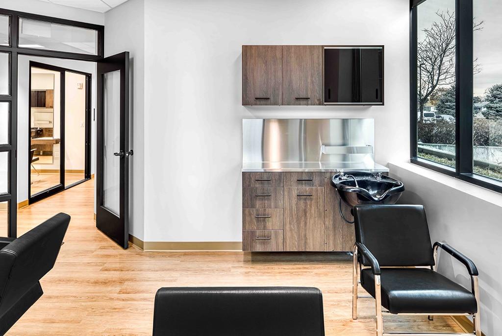 interior of studio suite in Orem Indie Studio Suites
