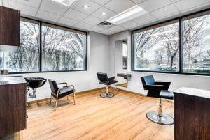interior of salon suite in Orem Indie Studio Suites